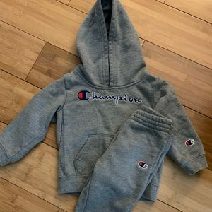 Baby champion sweater and sweatpants